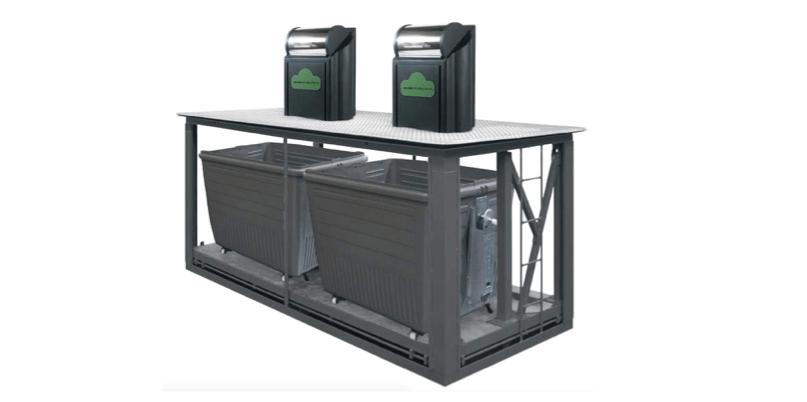 Contenedores soterrados de carga lateral