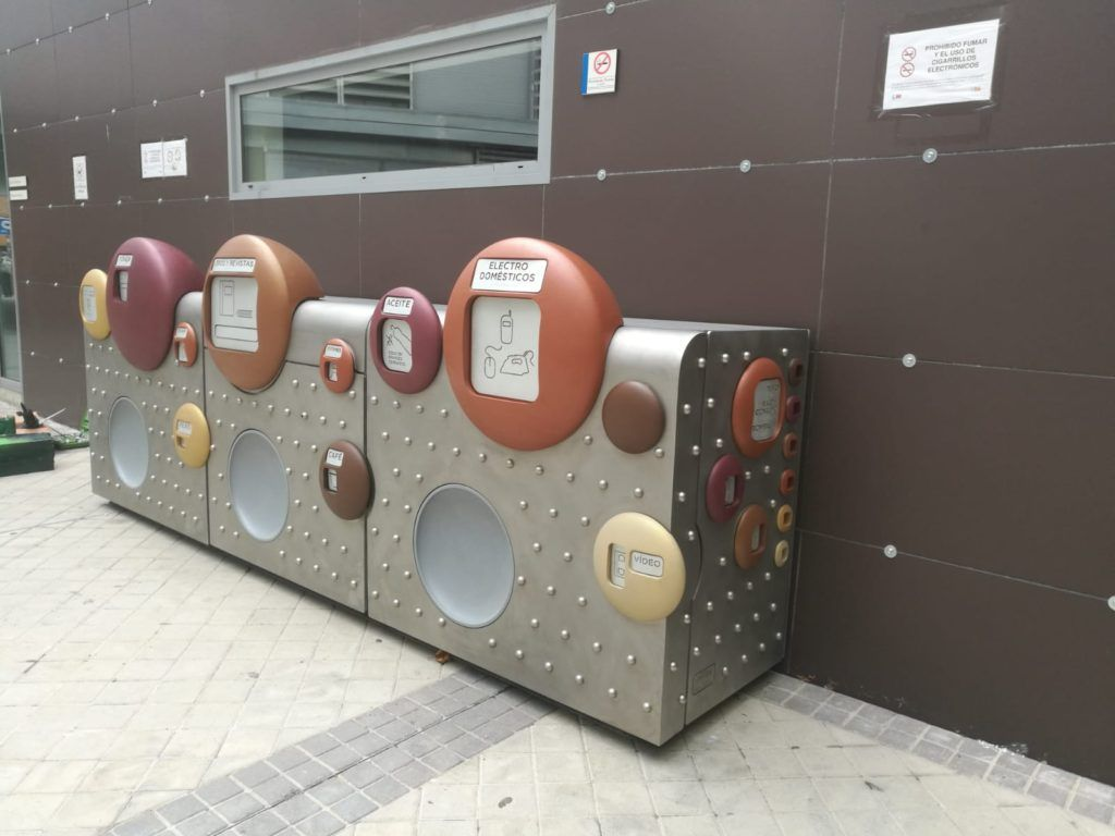 De nuevo SANIMOBEL instala 40 Puntos Limpios de Proximidad (PLP) en Madrid 3