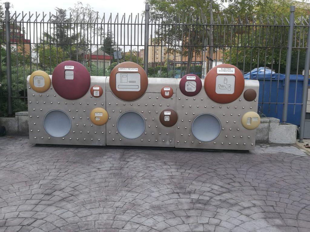 De nuevo SANIMOBEL instala 40 Puntos Limpios de Proximidad (PLP) en Madrid 4