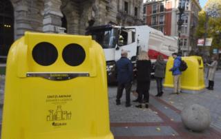 La Diputación de Bizkaia sustituirá los contenedores amarillos por un modelo de SANIMOBEL 100% reciclable 3