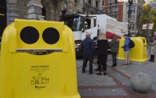 La Diputación de Bizkaia sustituirá los contenedores amarillos por un modelo de SANIMOBEL 100% reciclable 7