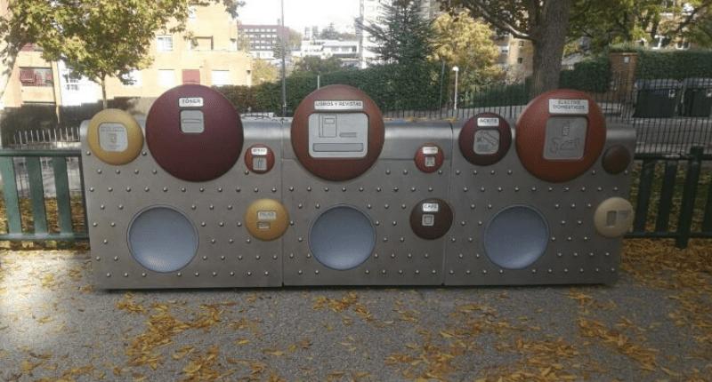De nuevo SANIMOBEL instala 40 Puntos Limpios de Proximidad (PLP) en Madrid 1