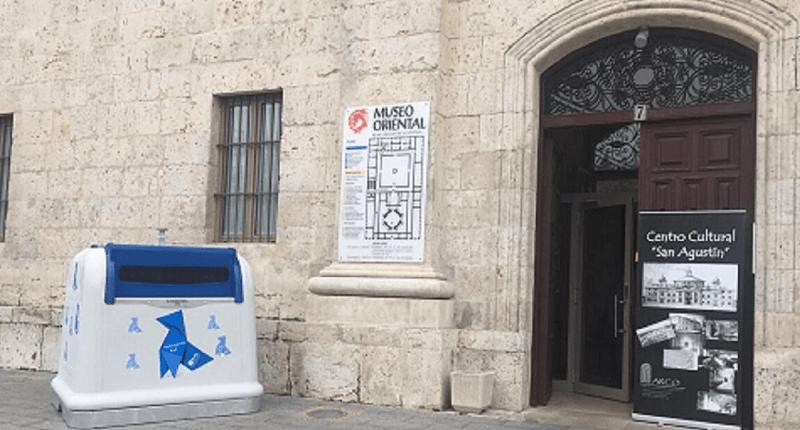 SANIMOBEL personaliza su contenedor NEO, para apoyar la imagen de las Pajaritas Azules 2020 1
