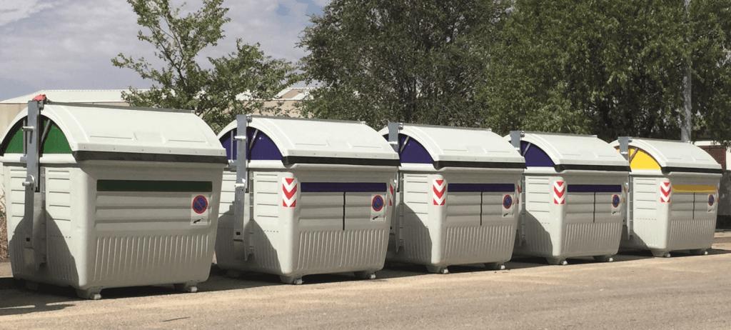 Contenedores de superficie de carga lateral 1