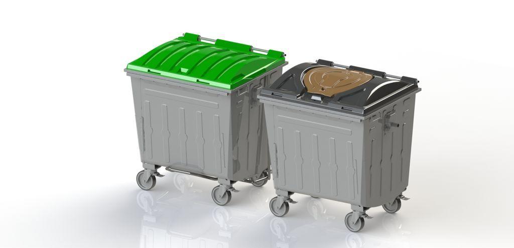 contenedores de superficie de carga trasera
